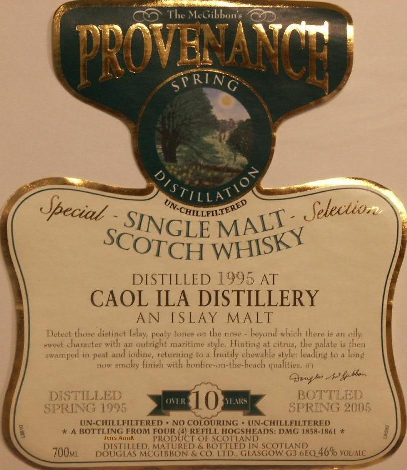 Galerie von den Provenance Whisky Label