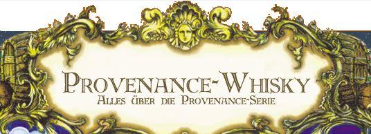 Das Banner der Provenance - Whisky Homepage