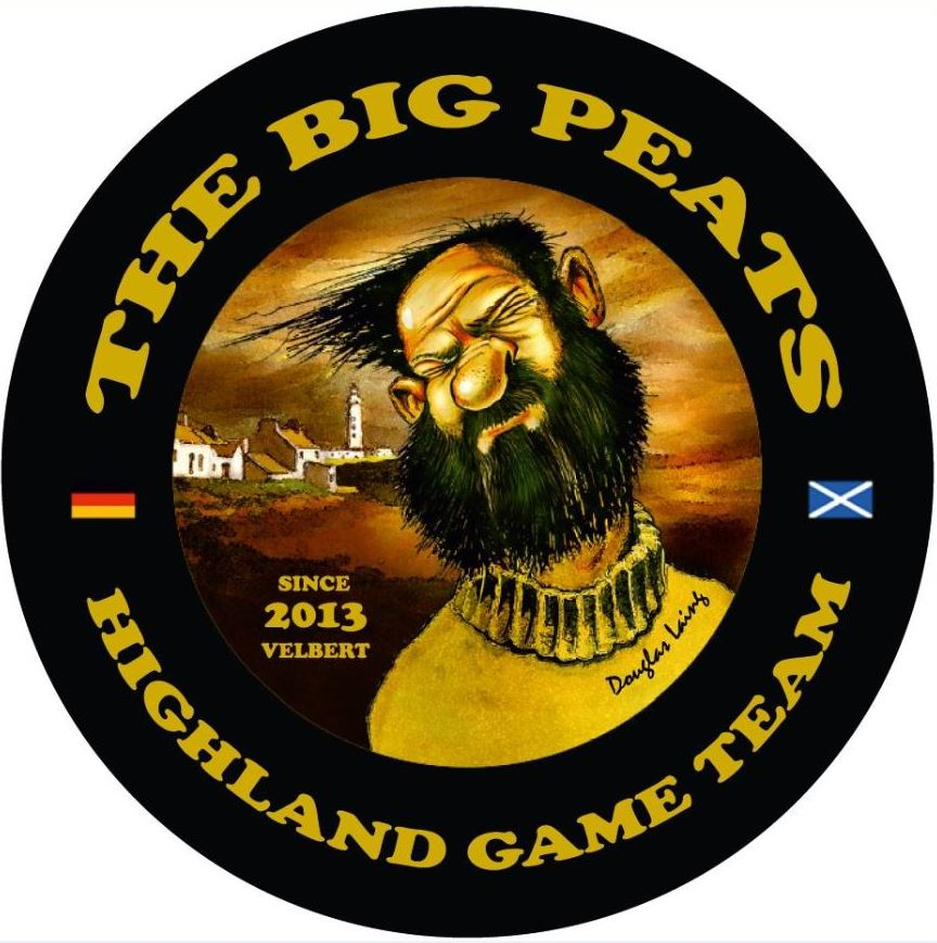 Logo vom Big Peat Highland Game Team